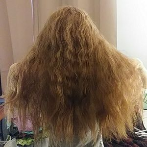Accessories - Light brown long haired new wig